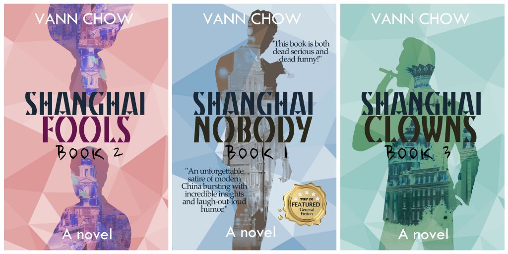 Master Shanghai Trilogy by Vann Chow - Funny Fictions about China